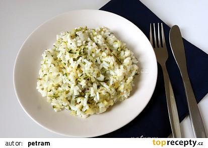 Indická cuketová rýže