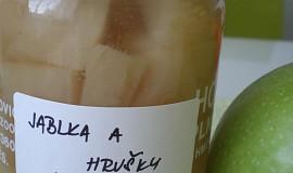 Jablečno - hruškový kompot