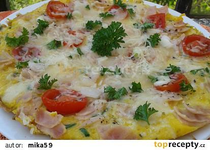Kedlubnová omeleta