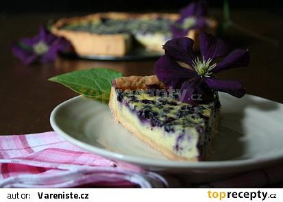 Křehký borůvkový koláč