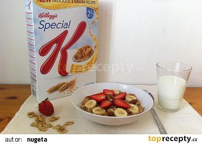 Křupavá zdravá snídaně
