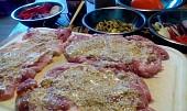 Kuřecí steaky po toskánsku
