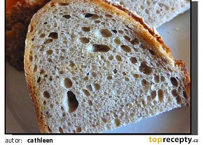 Kváskový pšenično - žitný chleba