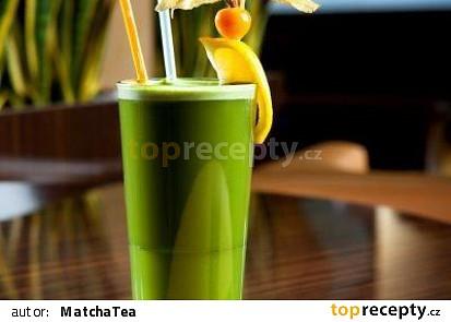 Matcha ice tea