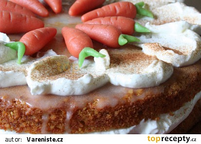 Mrkvový dort II.