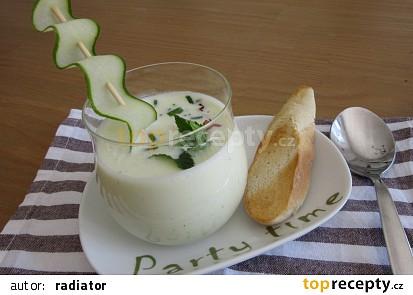 Okurková polévka-nevařená