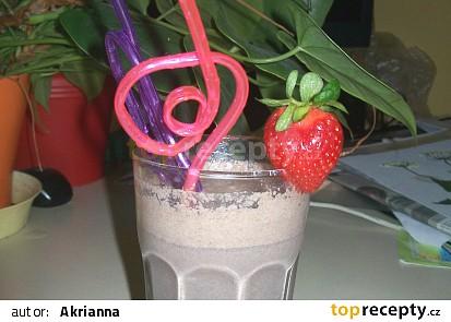 Oreo koktejl s nutellou