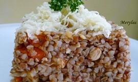 Pohanka s kuřecím masem a kořenovou zeleninou