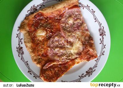 Rychlá domácí pizza