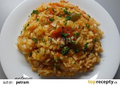 Rýže v leču aneb veganský džuveč