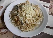 Špagety s cuketovou směsí