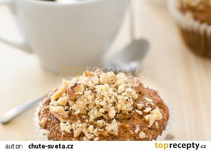 Banánové muffiny s vlašskými ořechy