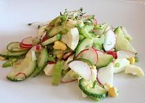 Bleskový jarní salátek