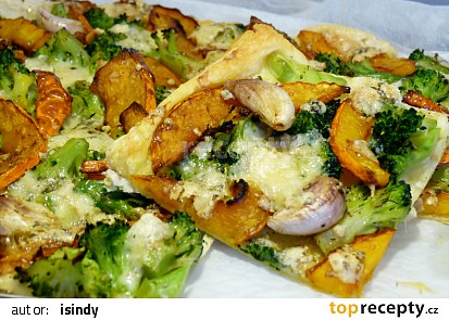 Brokolicovo-dýňový koláč