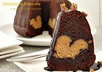 Čokoládová bábovka s arašídovým máslem