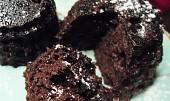 Čokoládové muffiny z mikrovlnky