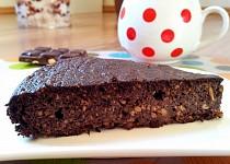 Čokoládový dortík z červené řepy