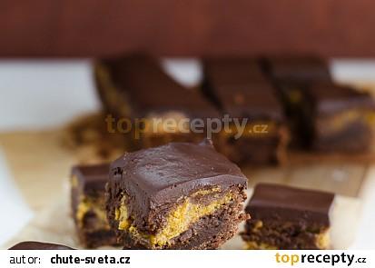 Dýňové brownies