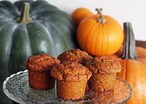 Dýňové muffiny s vlašskými ořechy