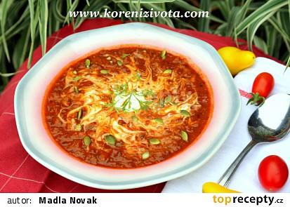 Fazolovo-dýňová voňavá polévka