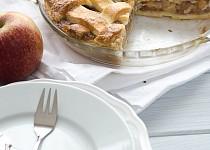 Jablečný koláč z máslového těsta