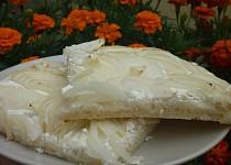 Jednoduchý cibulový koláč