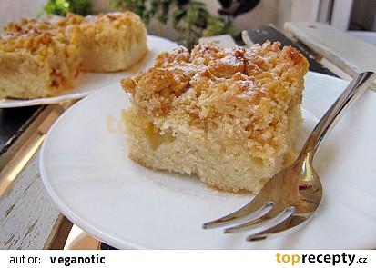 Jednoduchý drobenkový koláč