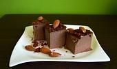 Kakaovo-mandlové pohankové kostky bez mouky