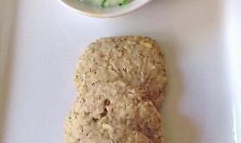 Kardamonové sušenky s limetovým dipem