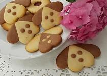 Pejsci - křehké sušenky z kondenzovaného mléka