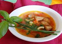 Letní rajčatovo - papriková polévka