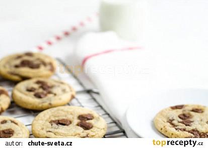 Měkké čokoládové cookies