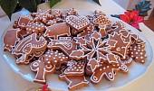 Měkké vánoční perníčky