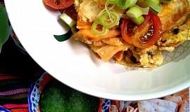 Migas (míchaná vejce s tortillou)