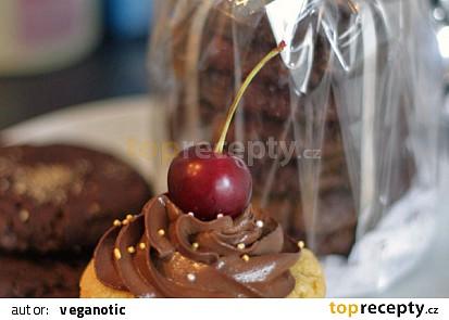 Našlehaný čokoládový krém