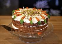 Mrkvový dort s kokosovým krémem