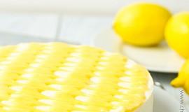 Nepečený citrónový cheesecake