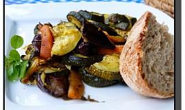 Pečená zelenina s bylinkami