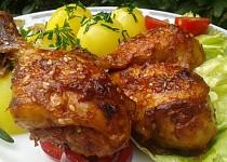 Pikantní kuřecí paličky