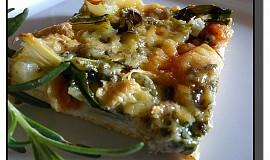 Pizza s mangoldem a Nivou