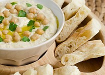 Pomazánka z cizrny - klasický hummus