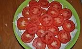 Rajčatový skládaný salát