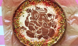 Téměř raw čokoládovo-vanilkový ganesha