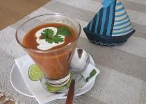 Tomatová polévka studená