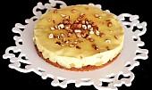 Výborný jablkový koláč s vanilkovým pudinkem
