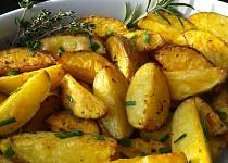Americké bylinkové brambory