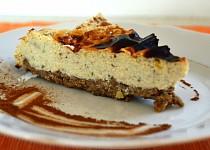 Cheesecake z cizrnového těsta