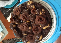 Čokoládový dort bez mouky  - božská Nemesis