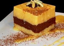 Dýňový dortík s mascarpone, nutellou a vaječným likérem