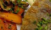 Filety ze pstruha na bramborovém pyré